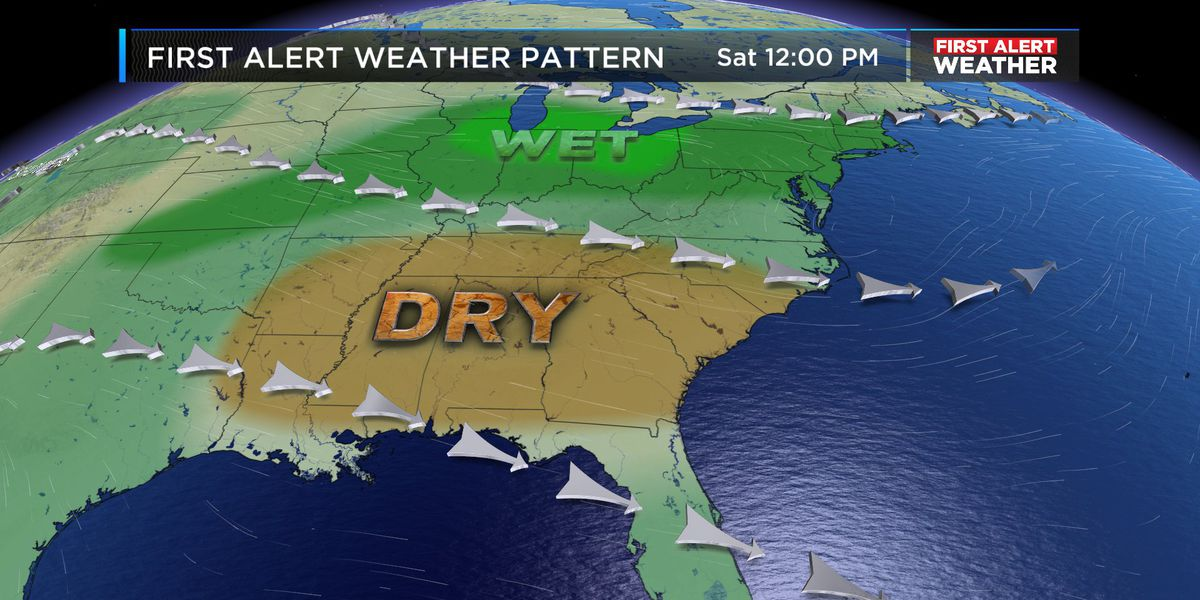 FIRST ALERT: Rain chances climb late next week
