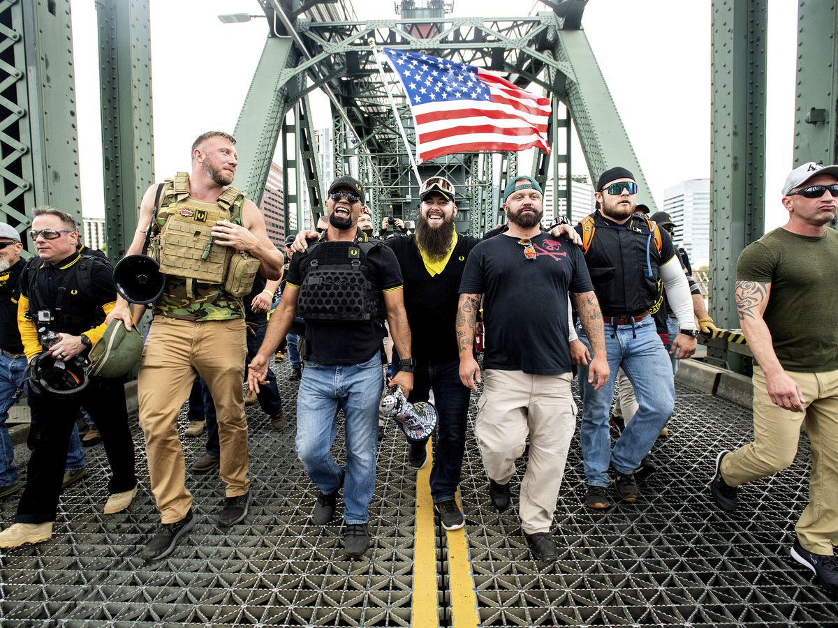 Proud Boy organizer arrested in Florida over riot at Capitol