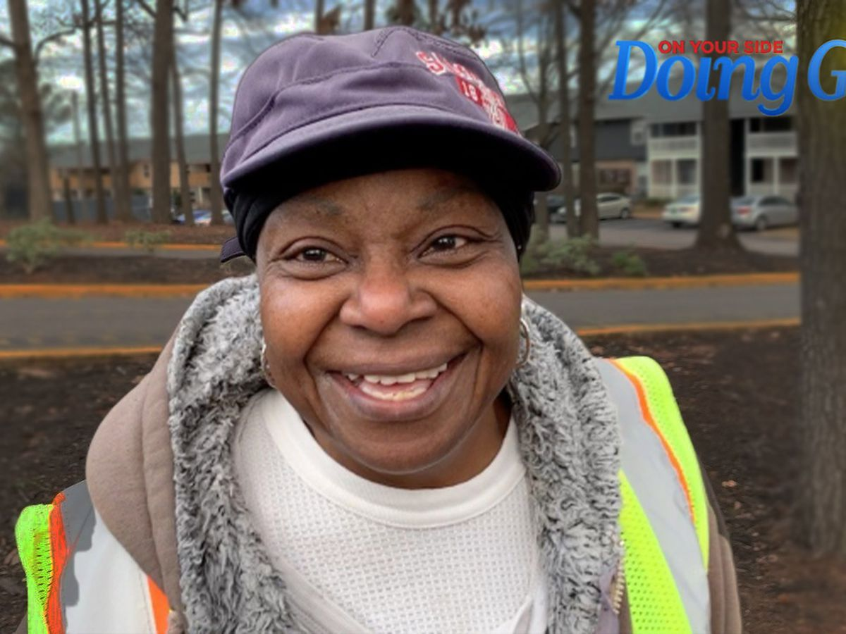 Rosetta Jackson 'Doing Good' at the bus stop