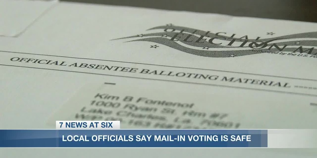WH Chief of Staff talks mail-in voting