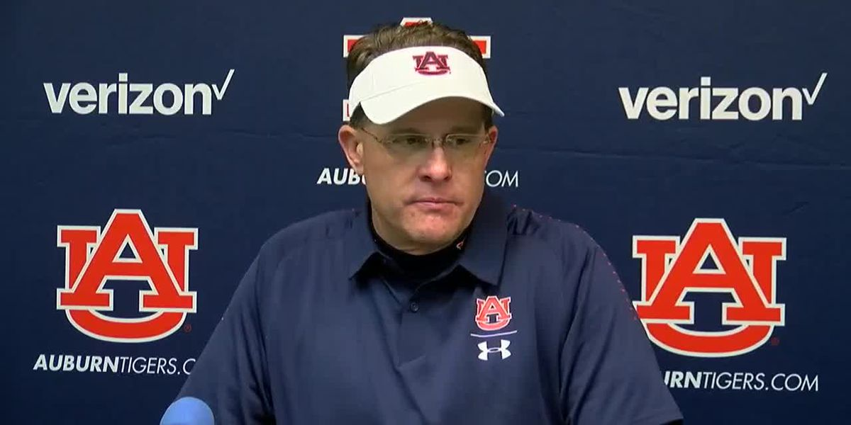 Gus Malzahn speaks after Ole Miss game