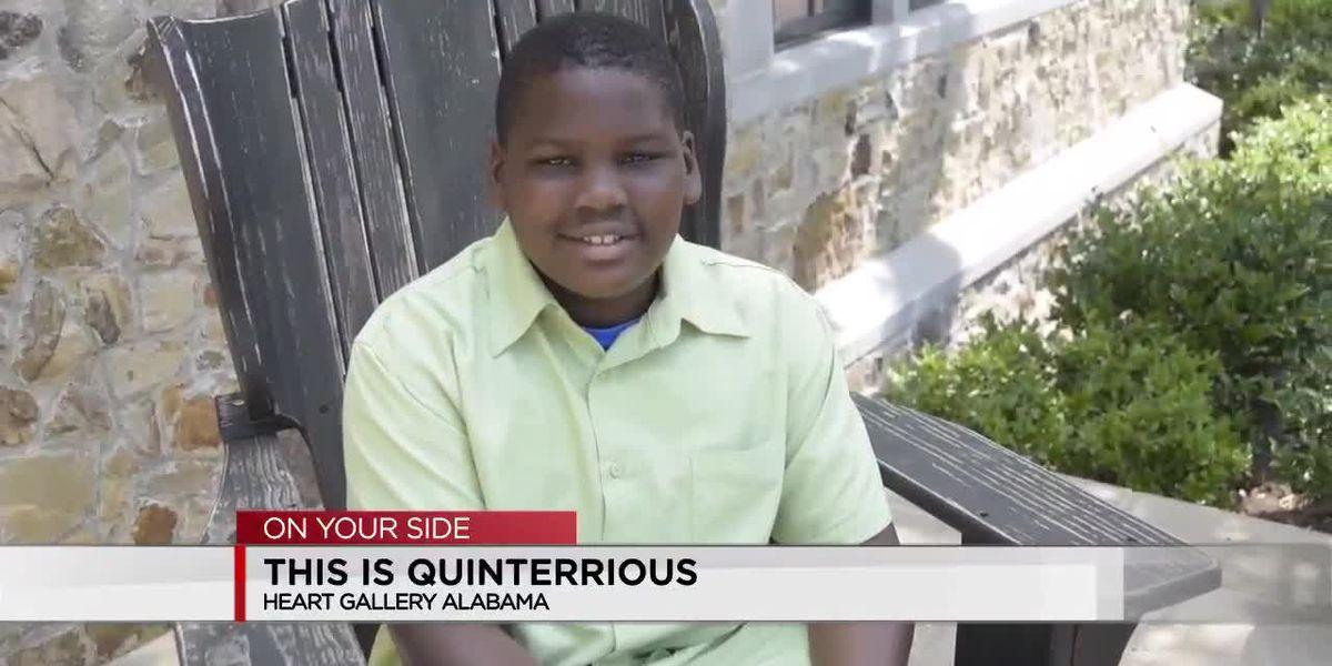 Heart Gallery Alabama: Quinterrious