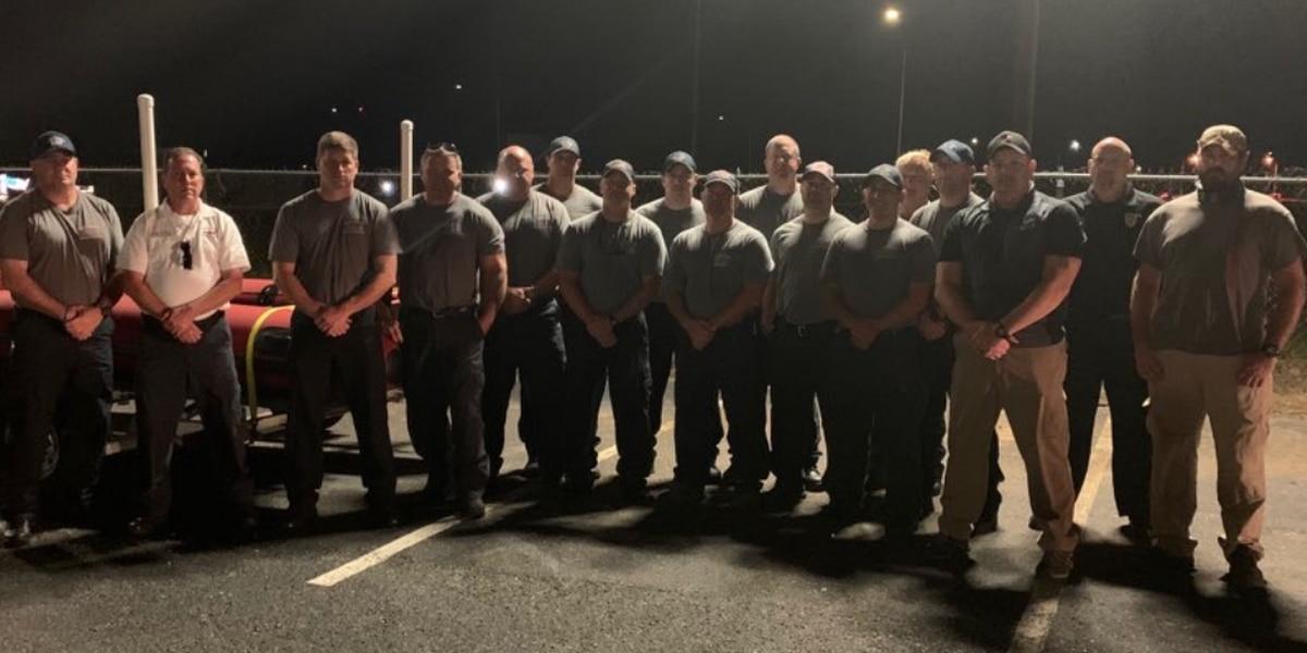 Tuscaloosa firefighters deploy to Alabama Gulf Coast