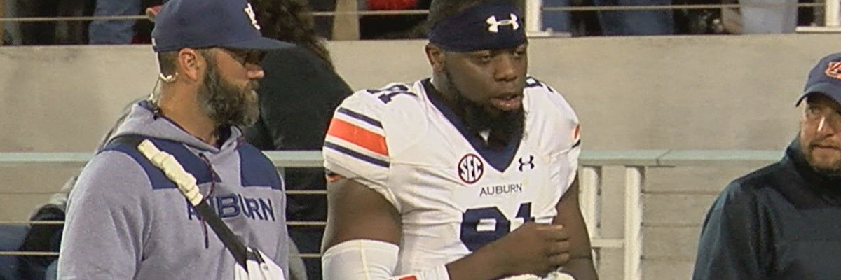 Auburn DE Nick Coe to miss Liberty game