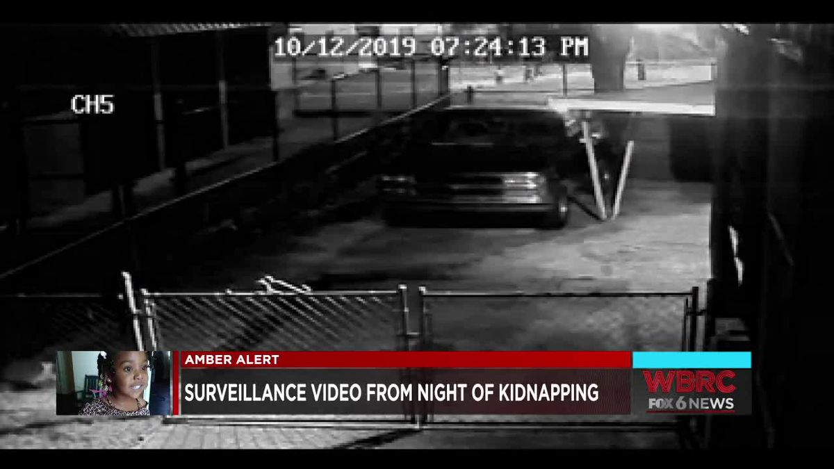 Surveillance video from night of kidnapping of Kamille McKinney