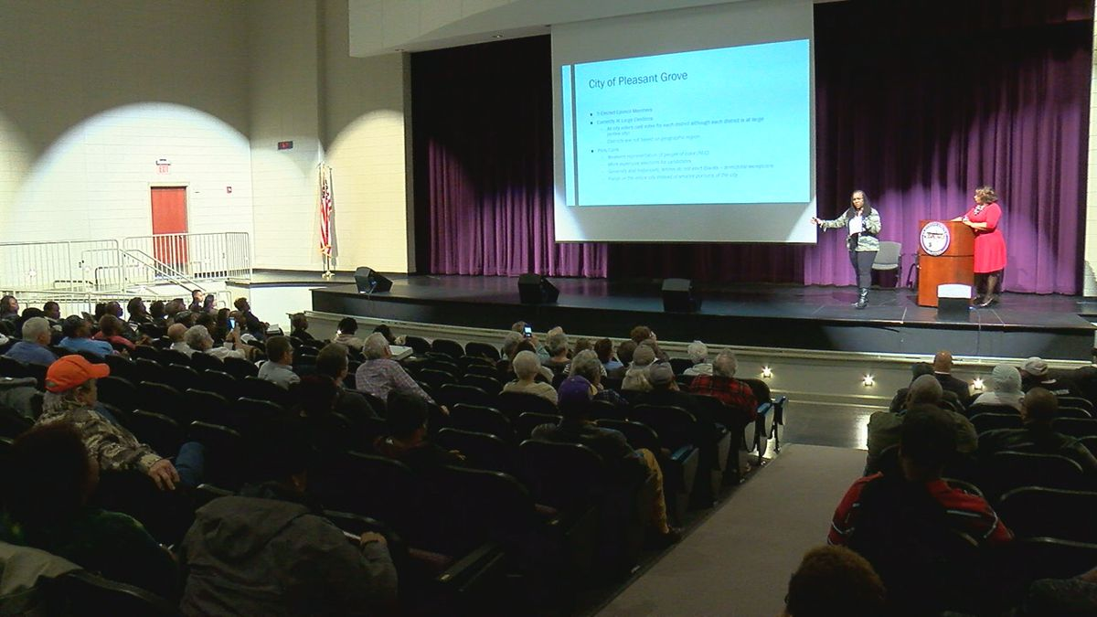 Pleasant Grove Town Hall focuses on voting options