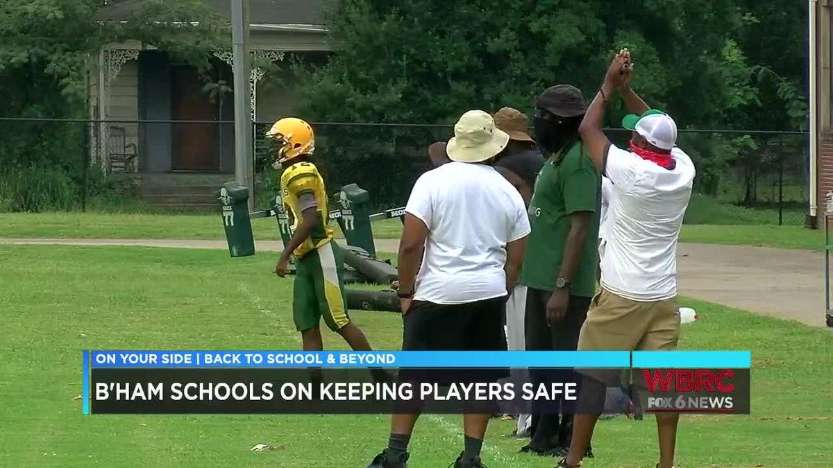 Birmingham City Schools move coaches around to help keep High School football players safe
