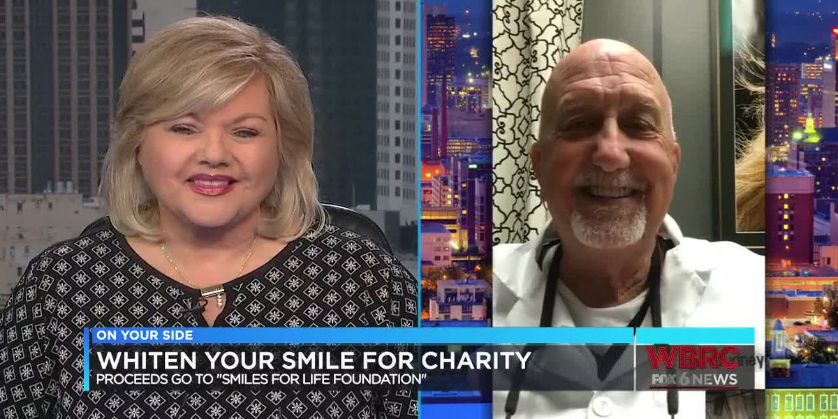 Whiten Your Smile for Charity