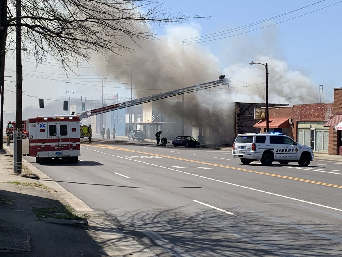 Car on fire led to structure fire in Fairfield transmission shop