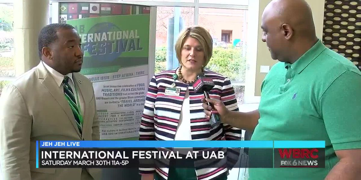 Jeh Jeh Live: UAB International Festival