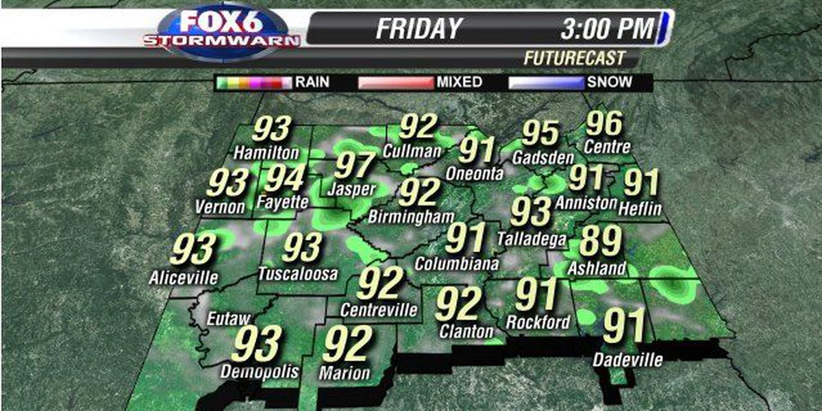 Jill: Friday has a better chance for storms to provide some heat relief