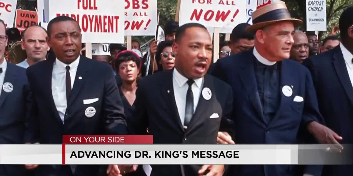 Advancing Dr. King's message