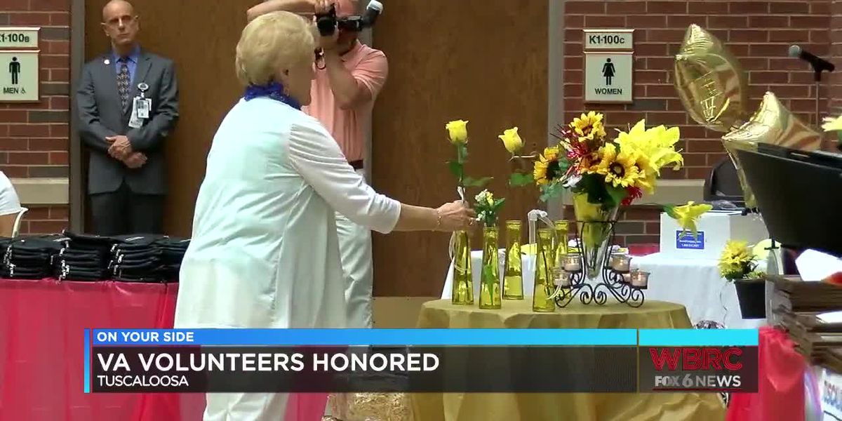 Tuscaloosa VA honors volunteers