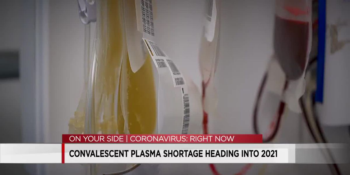 Red Cross officials say Alabama is in critical need of convalescent plasma