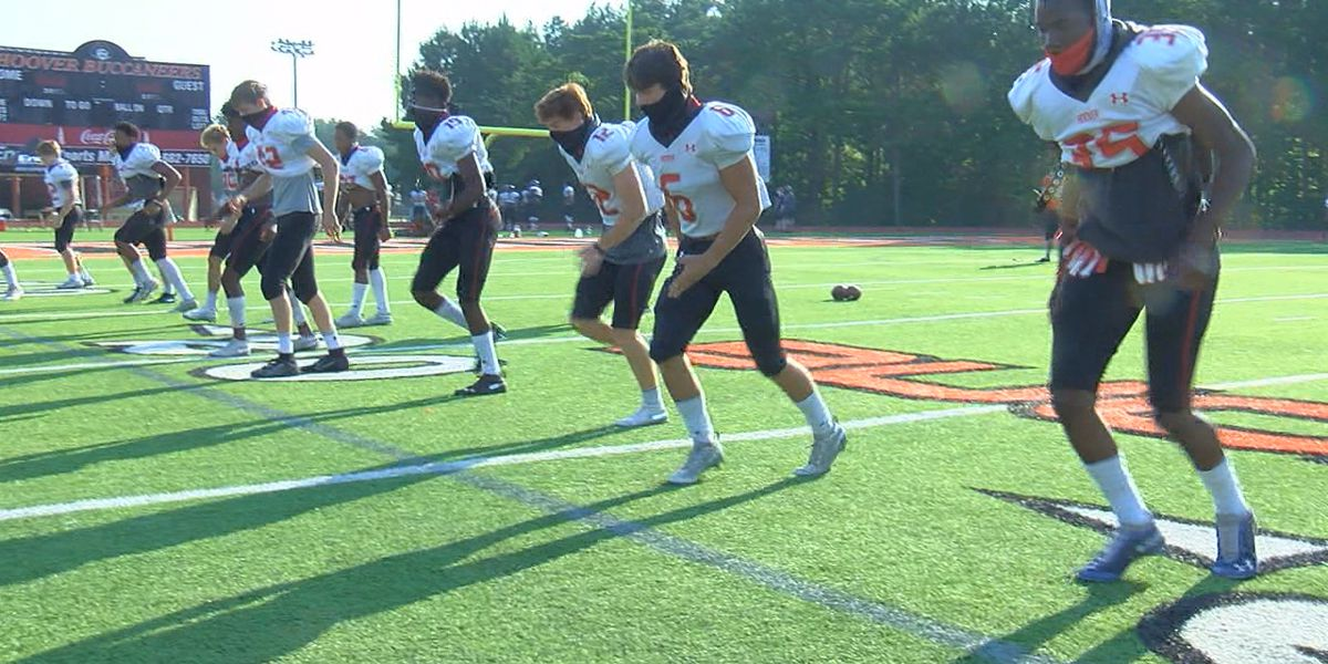 Hoover focuses on new COVID-19 rules during first scrimmage
