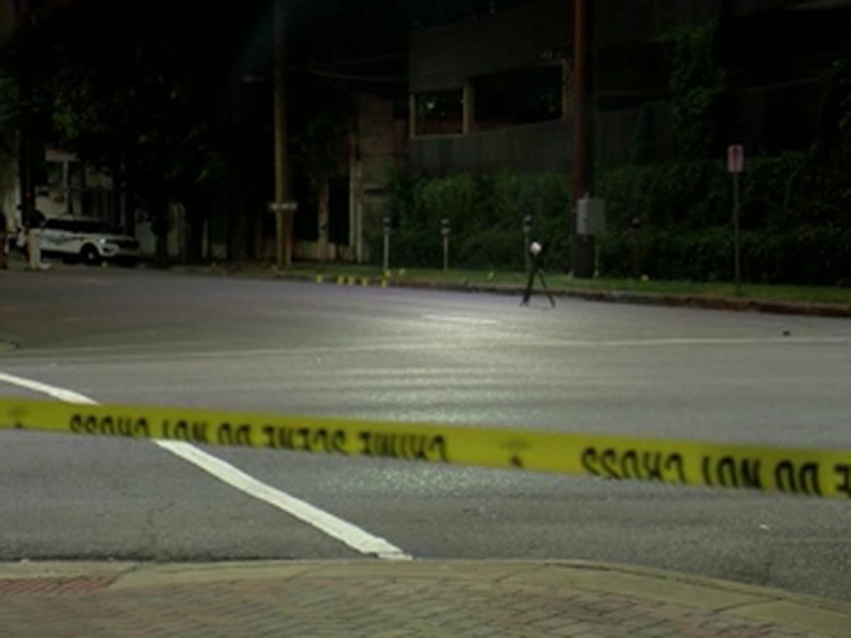 B'ham officer breaks up late-night gunfight, 1 person injured