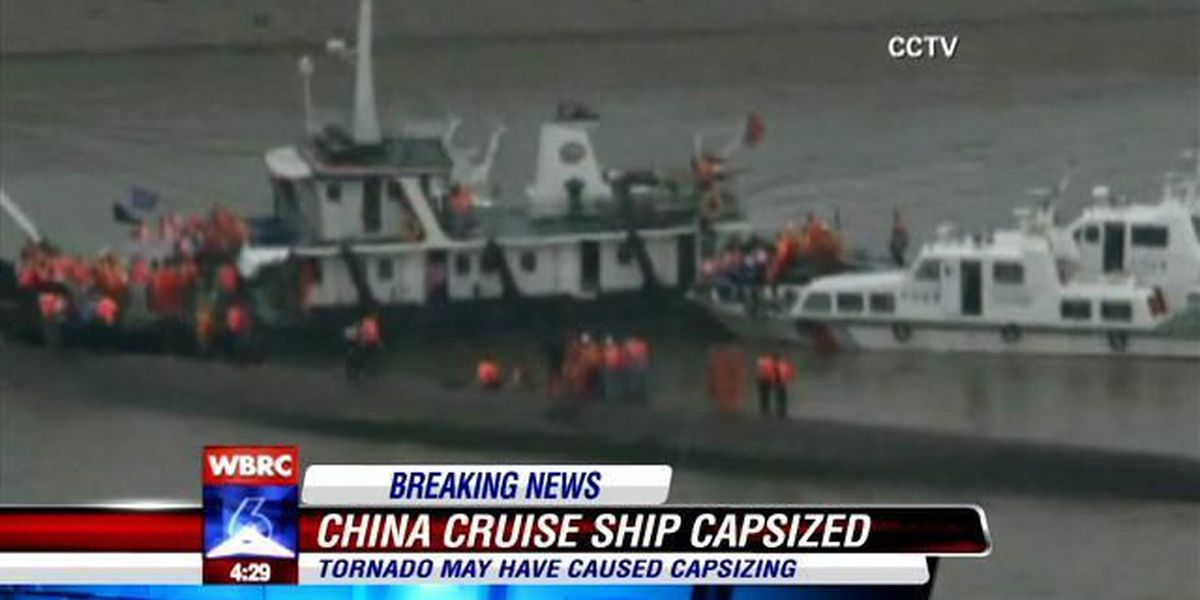The search continues for hundreds of victims of a capsized ship in China.