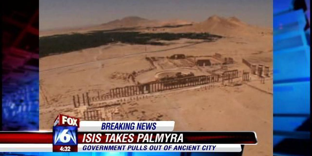 ISIL fighters seize Syria's ancient city of Palmyra