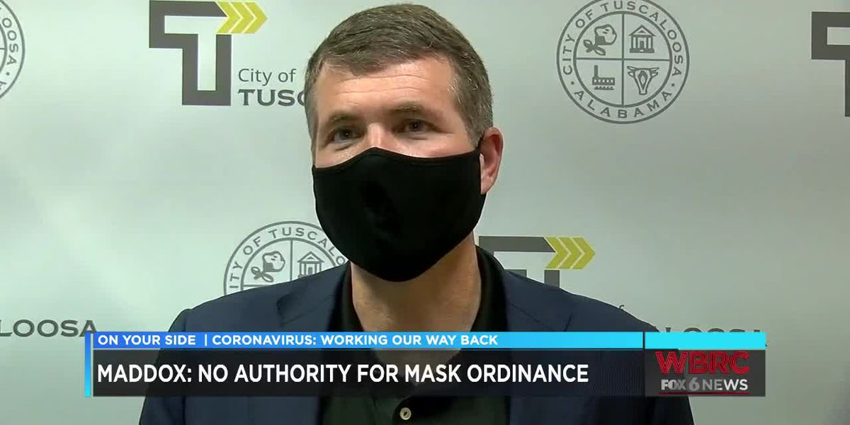 Decision on city-wide face covering ordinance left up to Tuscaloosa City Council