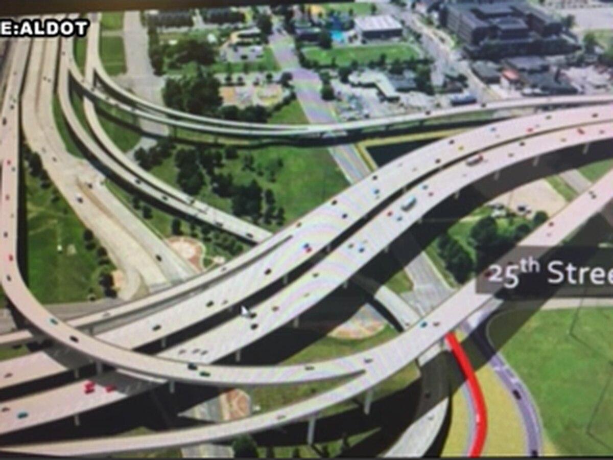 How will next week's heavy rain impact the 59/20 bridge project?