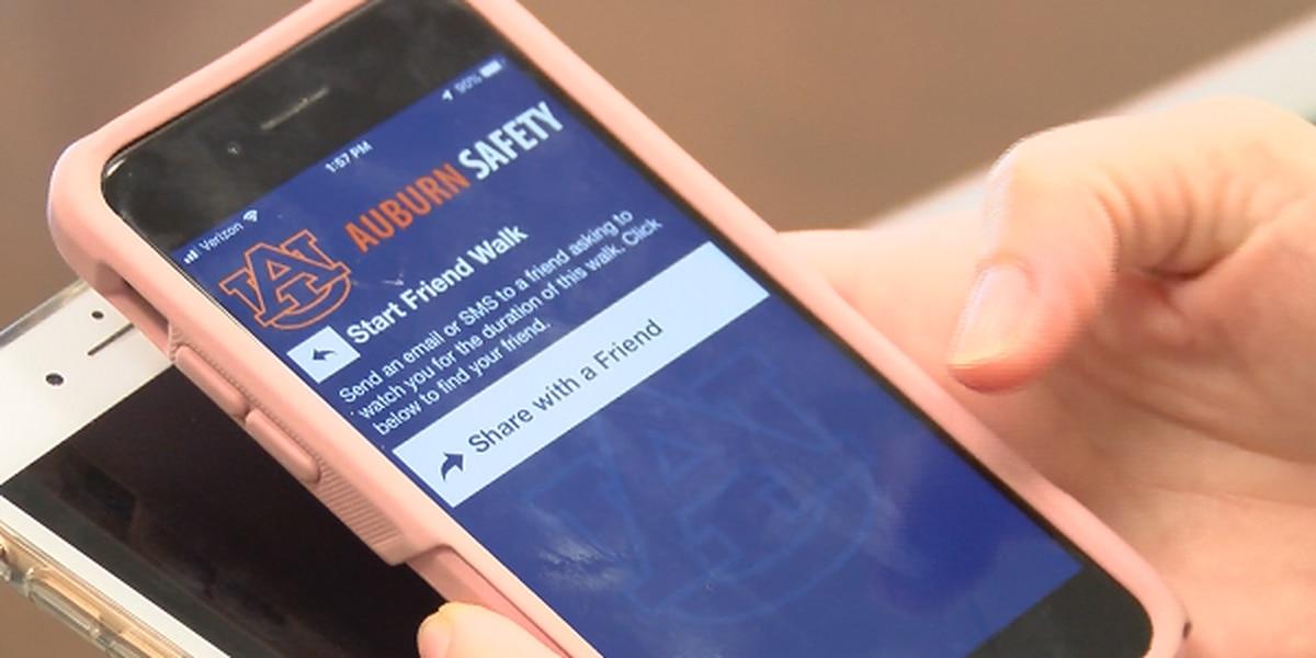 Auburn University rolls out safety app with virtual buddy system