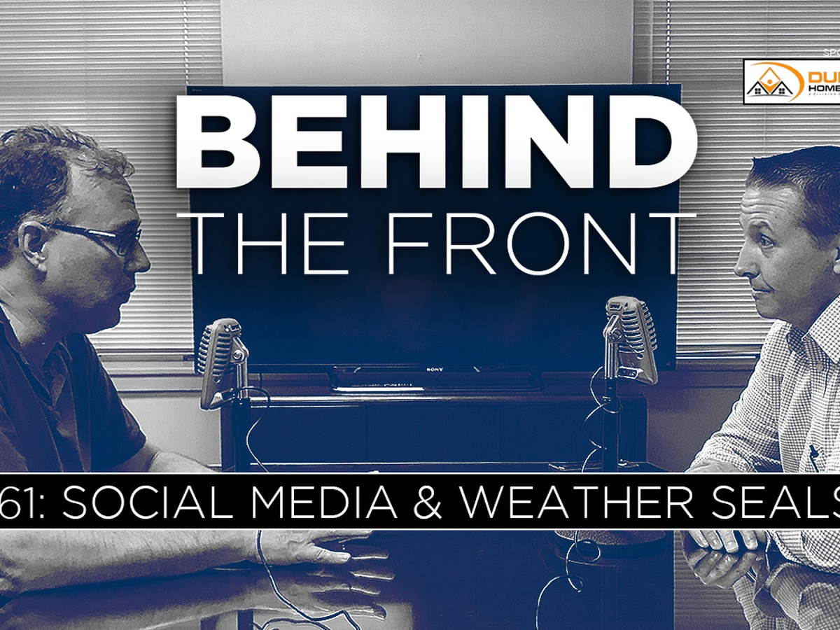 Behind the Front: Shaping forecasts through social media