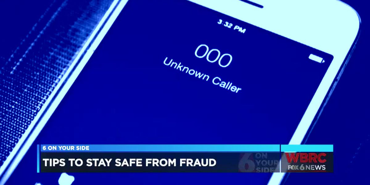 Tips to stay safe from fraud