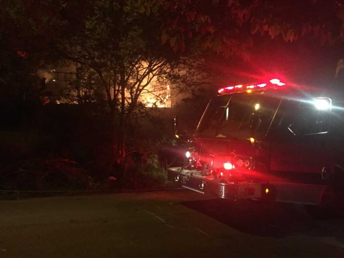 Fairfield home deemed total loss from fire; Firefighters still on scene