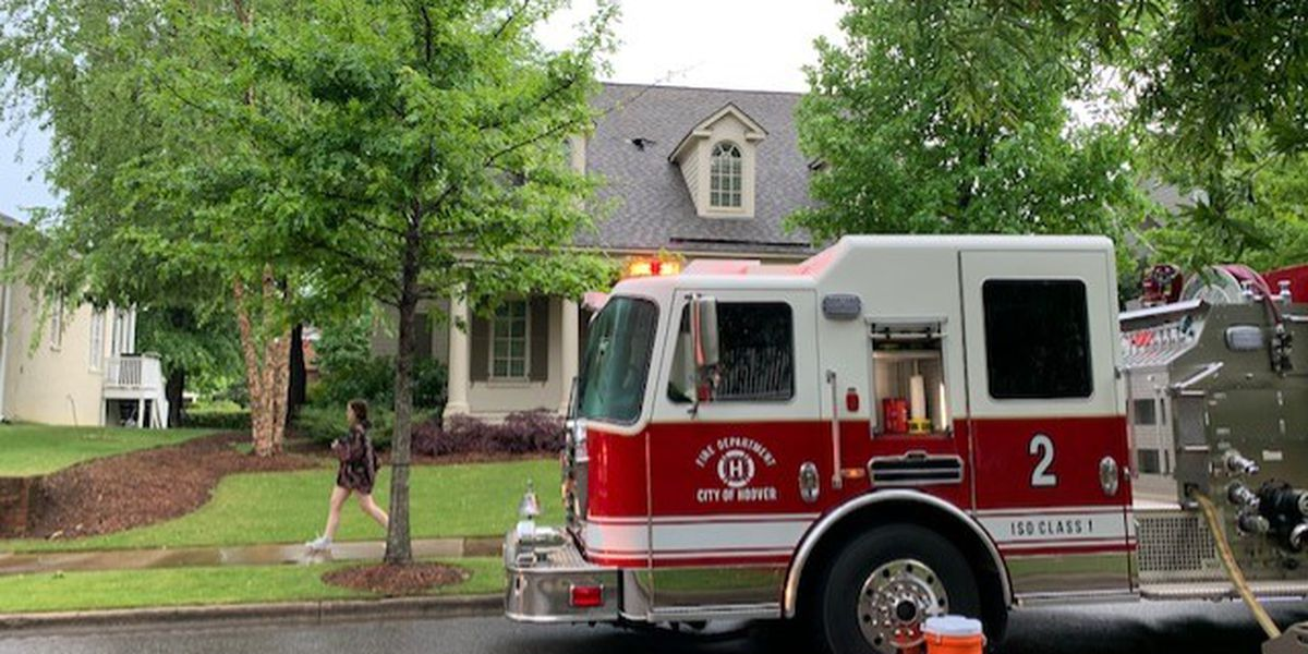 House fire in Hoover under investigation