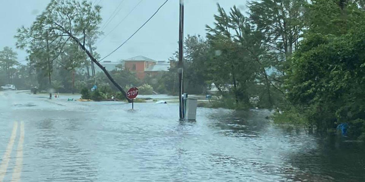 Damage across Alabama, Florida coast from Hurricane Sally