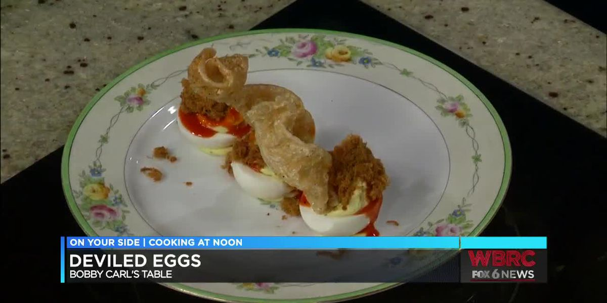 Bobby Carl's Table: Deviled eggs