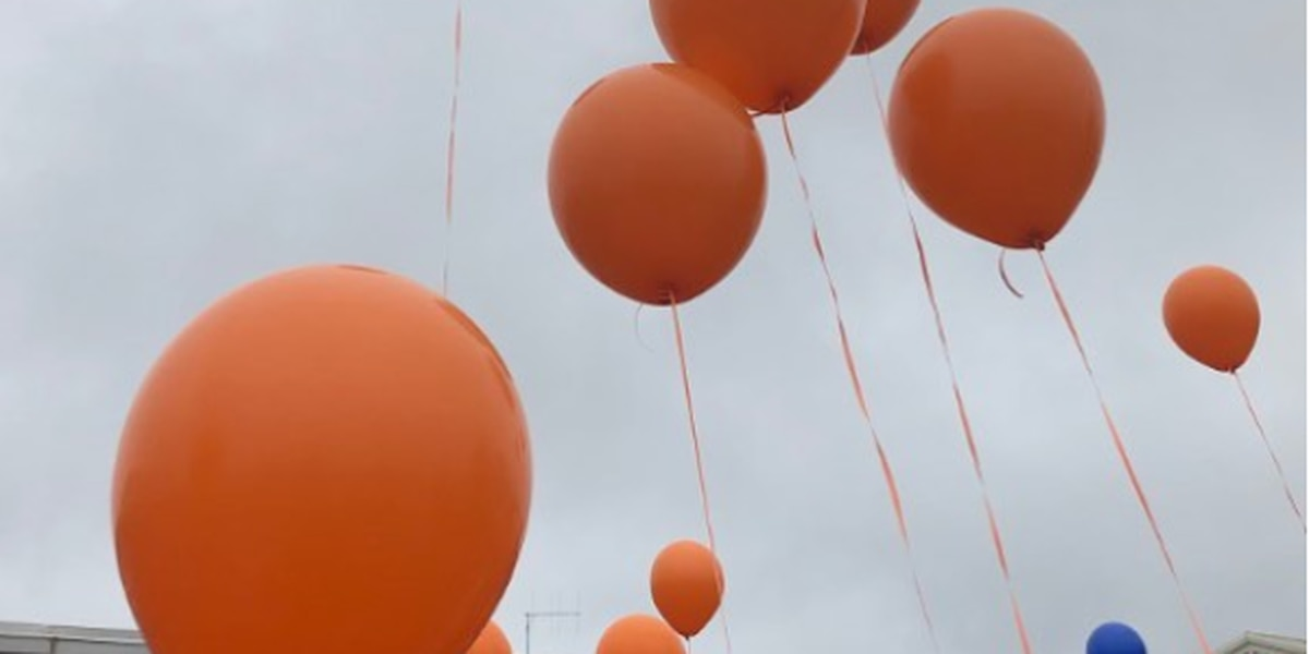 Friends, classmates remember young hunting accident victim with balloon release