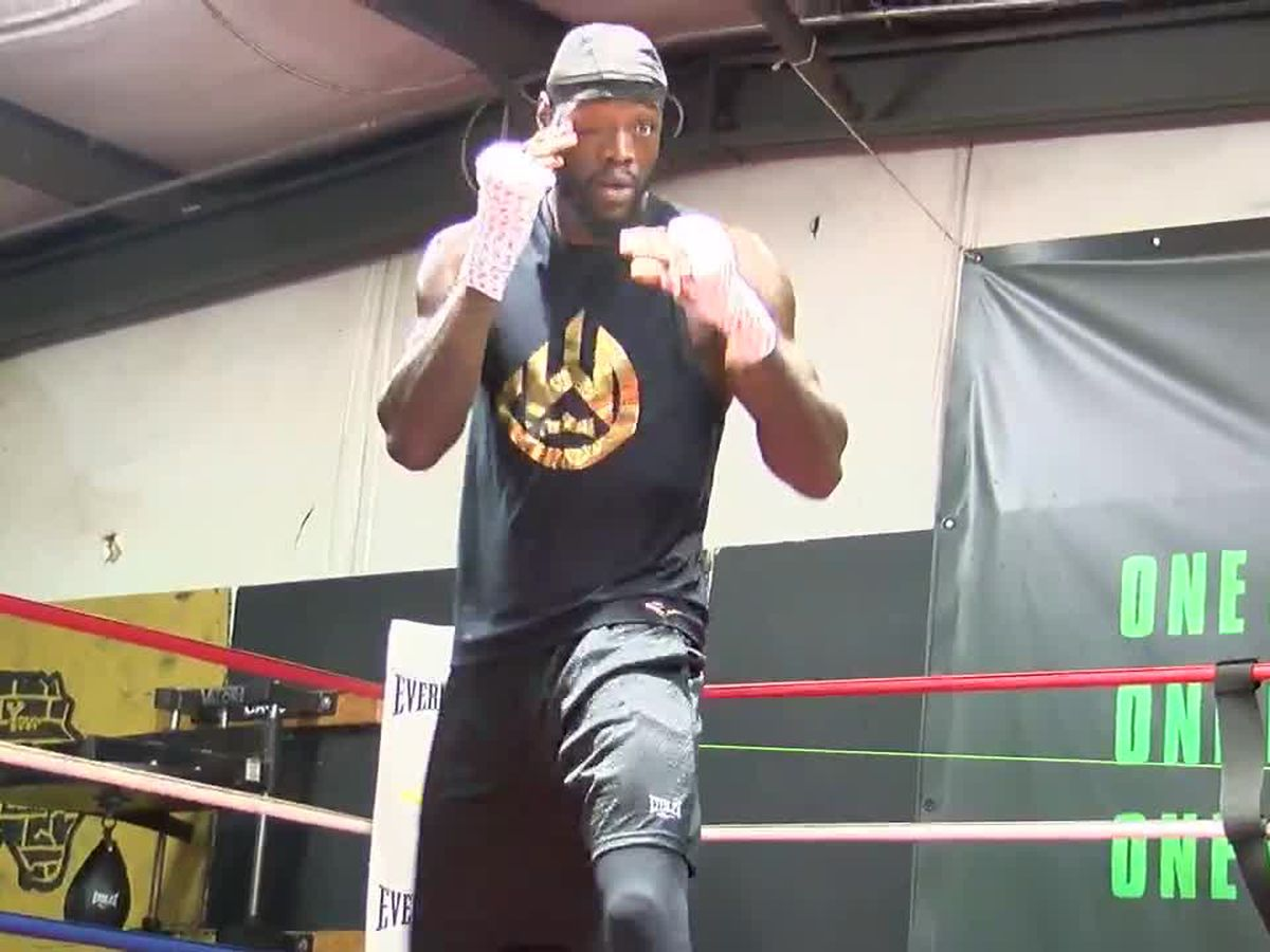 WBC Heavyweight Champion of the World, Tuscaloosa's Deontay Wilder, talks the good talk