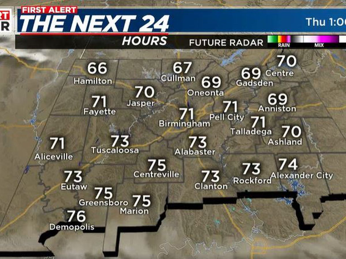 Clear skies and sunshine expected Thursday