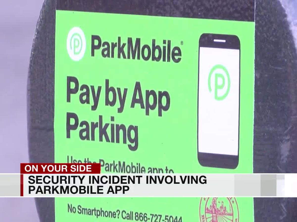 Users of downtown B'ham parking app may want to change password