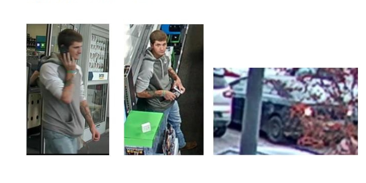 Tuscaloosa police asking for assistance identifying theft suspect
