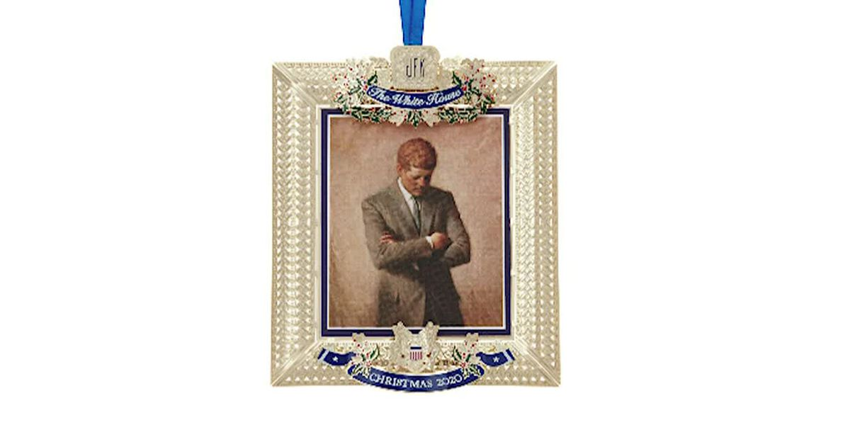 President Kennedy honored on 2020 White House ornament