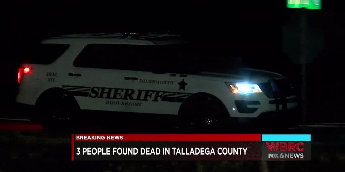 3 people found dead in Talladega Co. home
