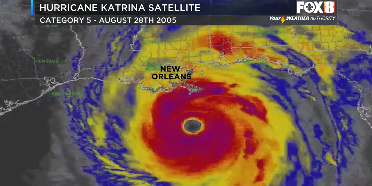 Hurricane Katrina: The record storm 15 years later