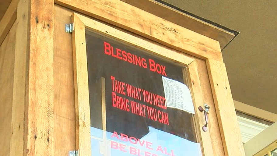 The Blessing Box helps those in need in Moody