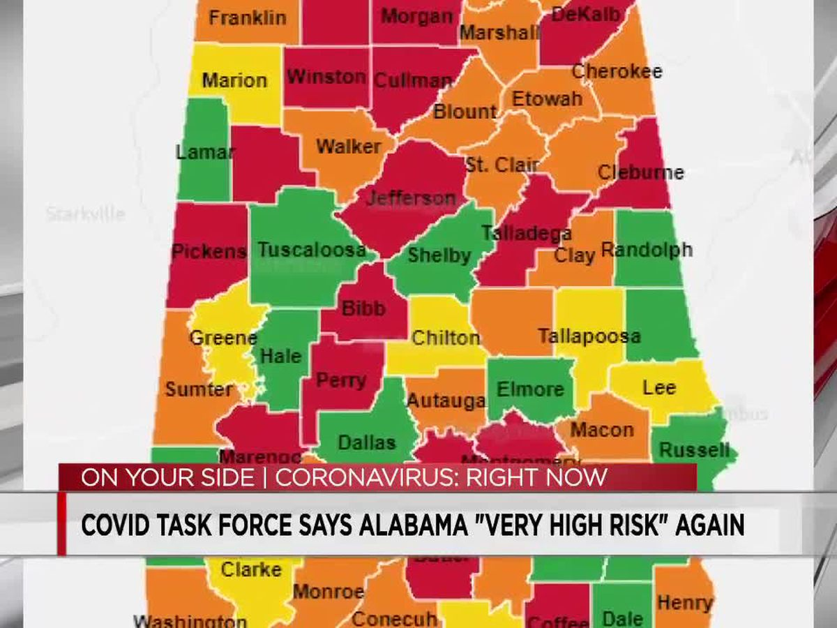 White House Coronavirus Task Force Weekly Report-Alabama