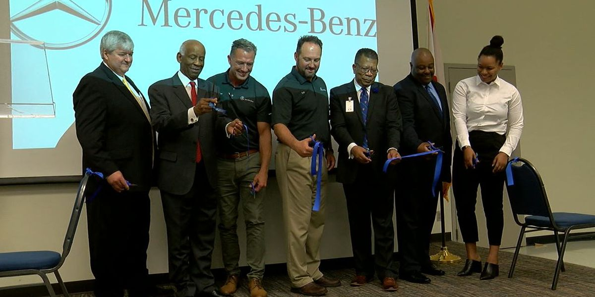 New partnership between Lawson State and Mercedes Benz