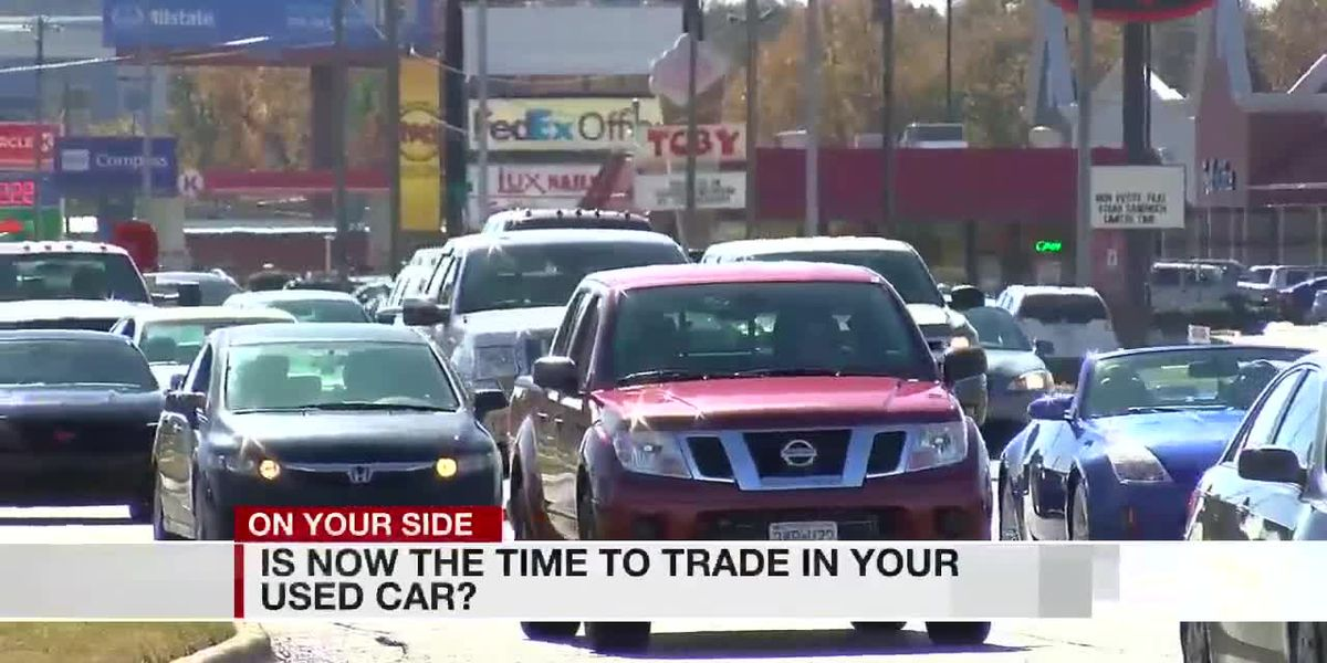 Experts say now is the best time to trade-in your used car