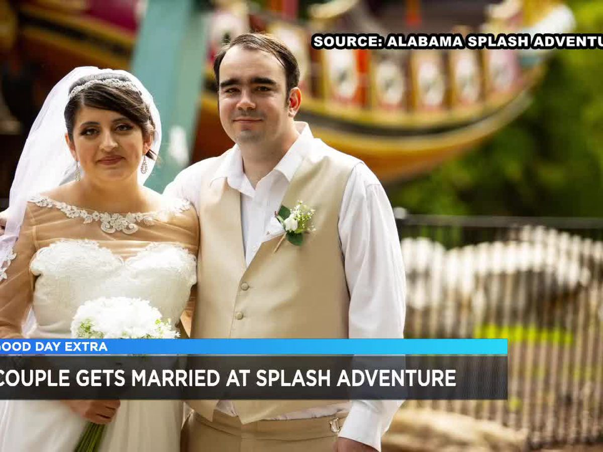 A love story: Couple meets, weds at Alabama Adventure