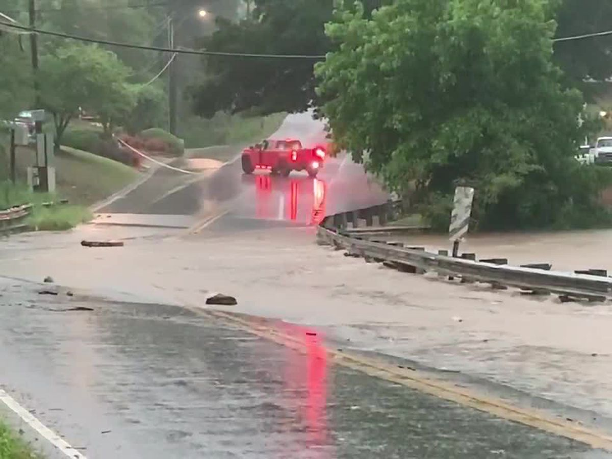 Flash Flood Warning Tuesday, neighborhoods flooding across Alabama