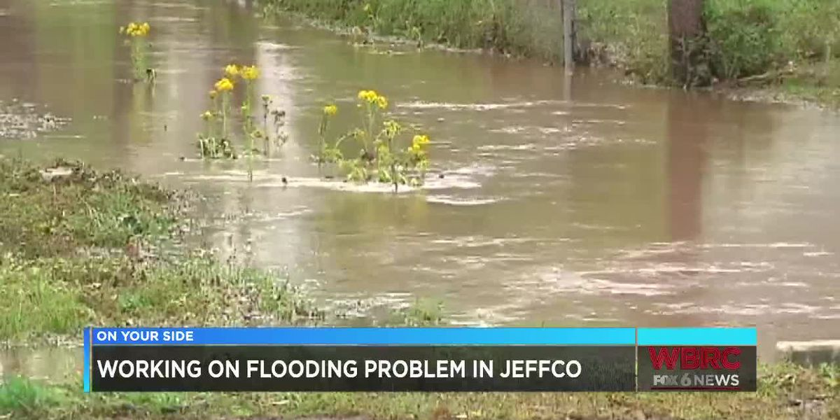 Working on flooding problem in JeffCo