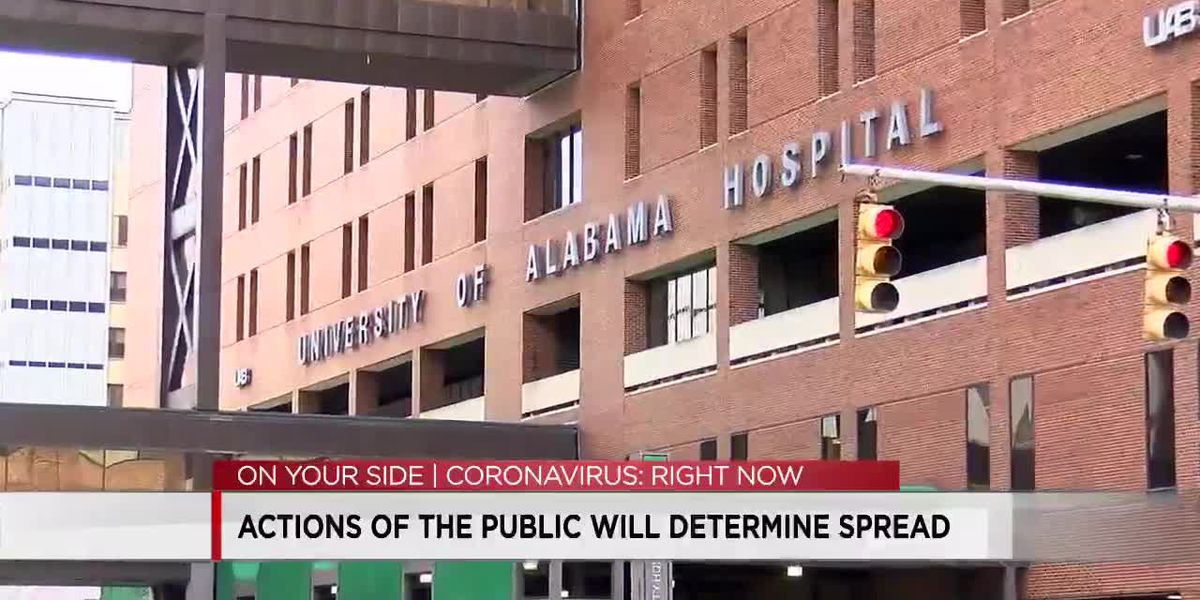 Doctor: Actions of the public will determine spread of COVID
