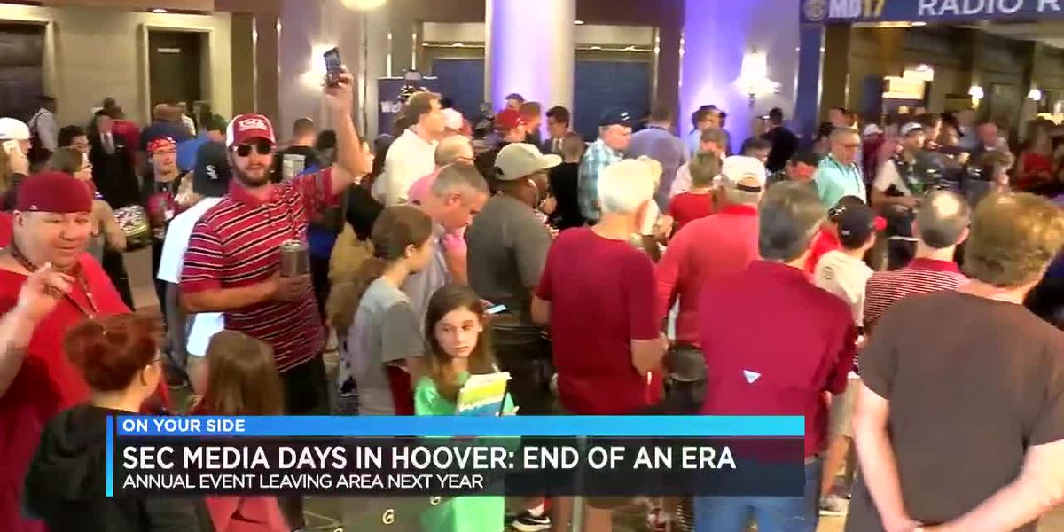 SEC Media Days in Hoover: End of an Era