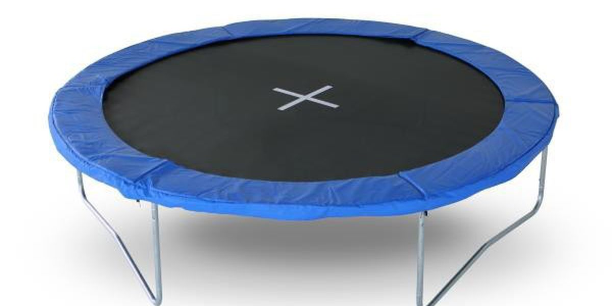 Trampoline recall issued after reports of breaking