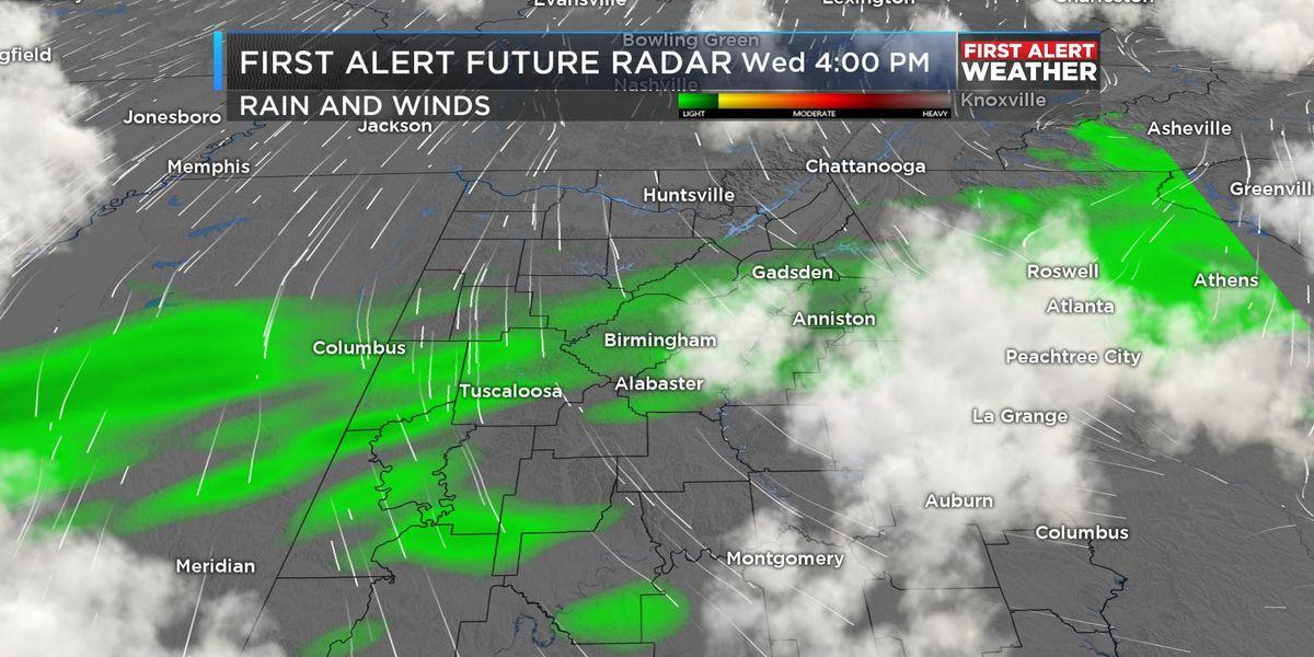 FIRST ALERT: Expect a wet Wednesday evening